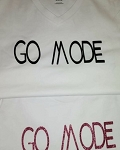 GO MODE/white