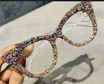 Multi- Color Cat-Eye Frames